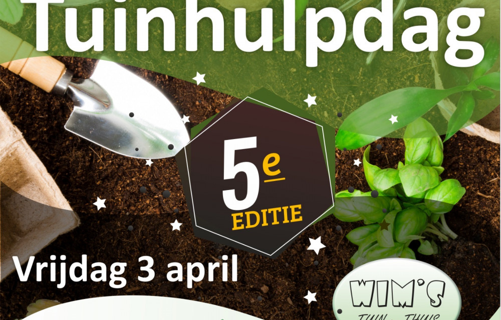 Tuinvrijwilliger 3 april